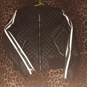 Bcbg maxazria bomber jacket